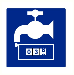 Pictogram waterteller Pp150