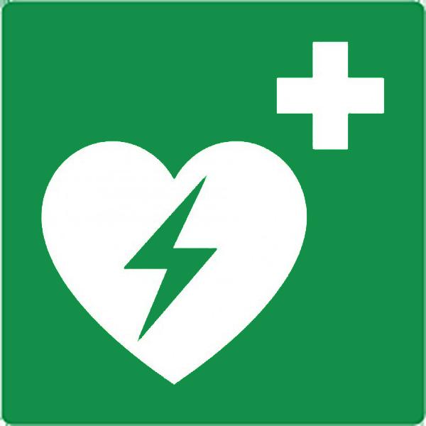 Pictogram AED toestel