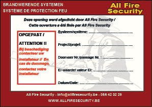 label doorvoeringen AFS